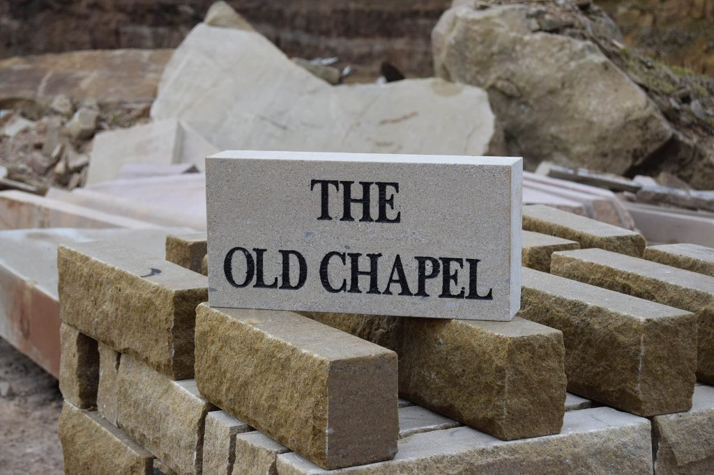 the Old Chapel sign