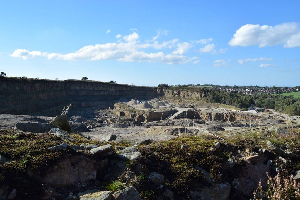 Quarry at Brinscall