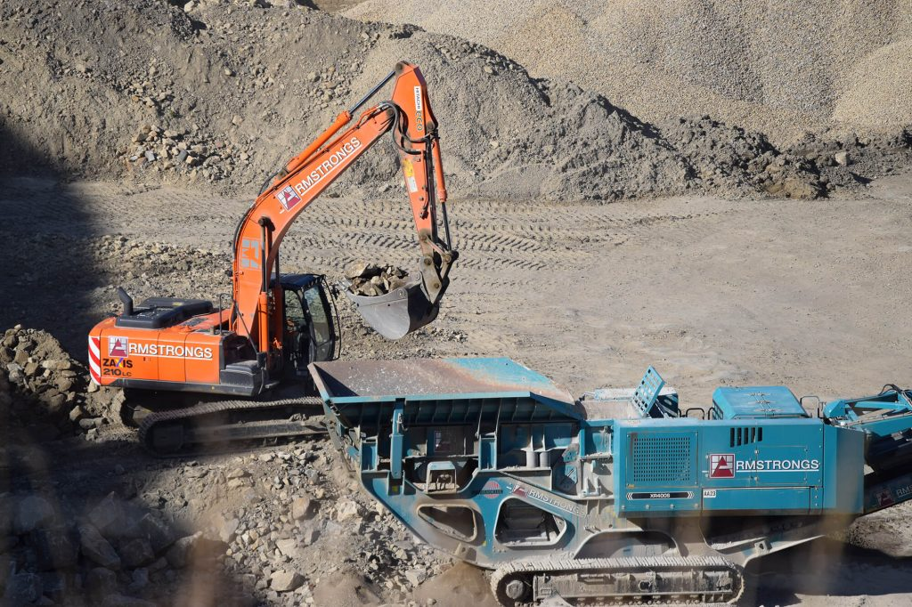 Brinscall excavator