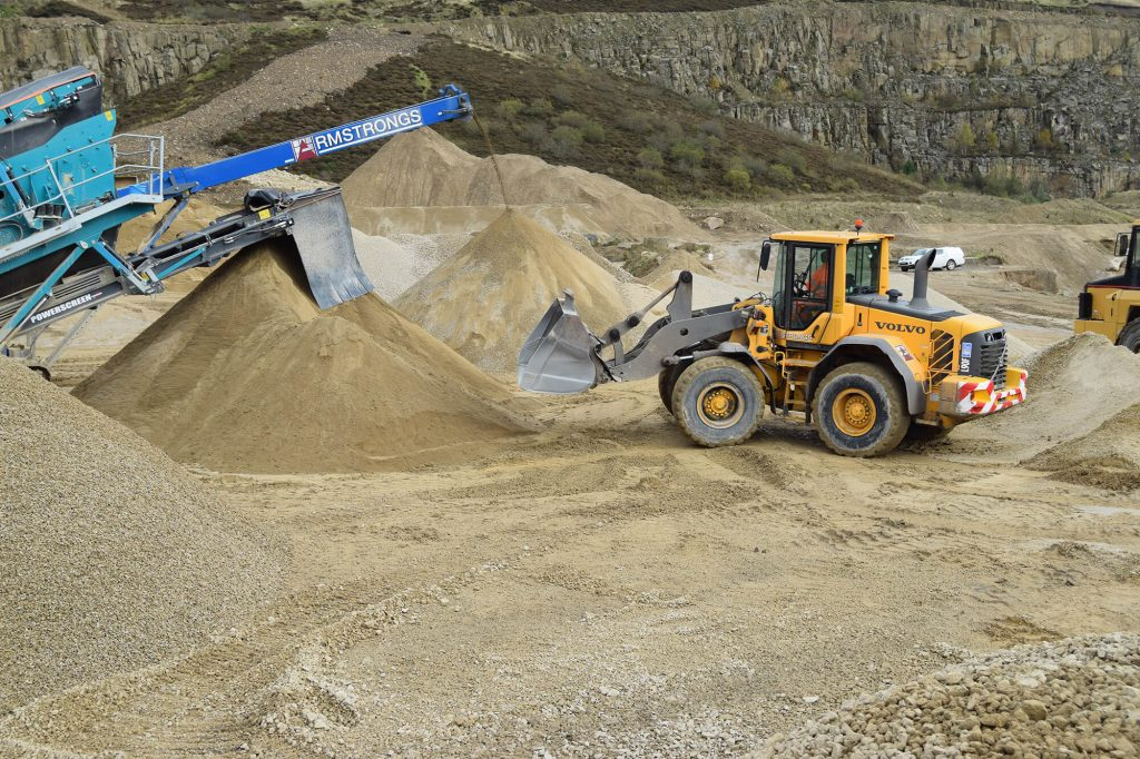 transferring sand