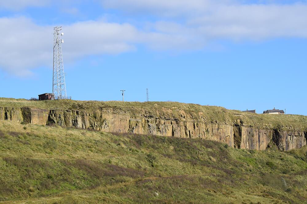 Pilkington Quarry distance view