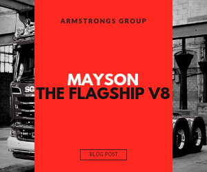 Mayson the Flagship V8 blog