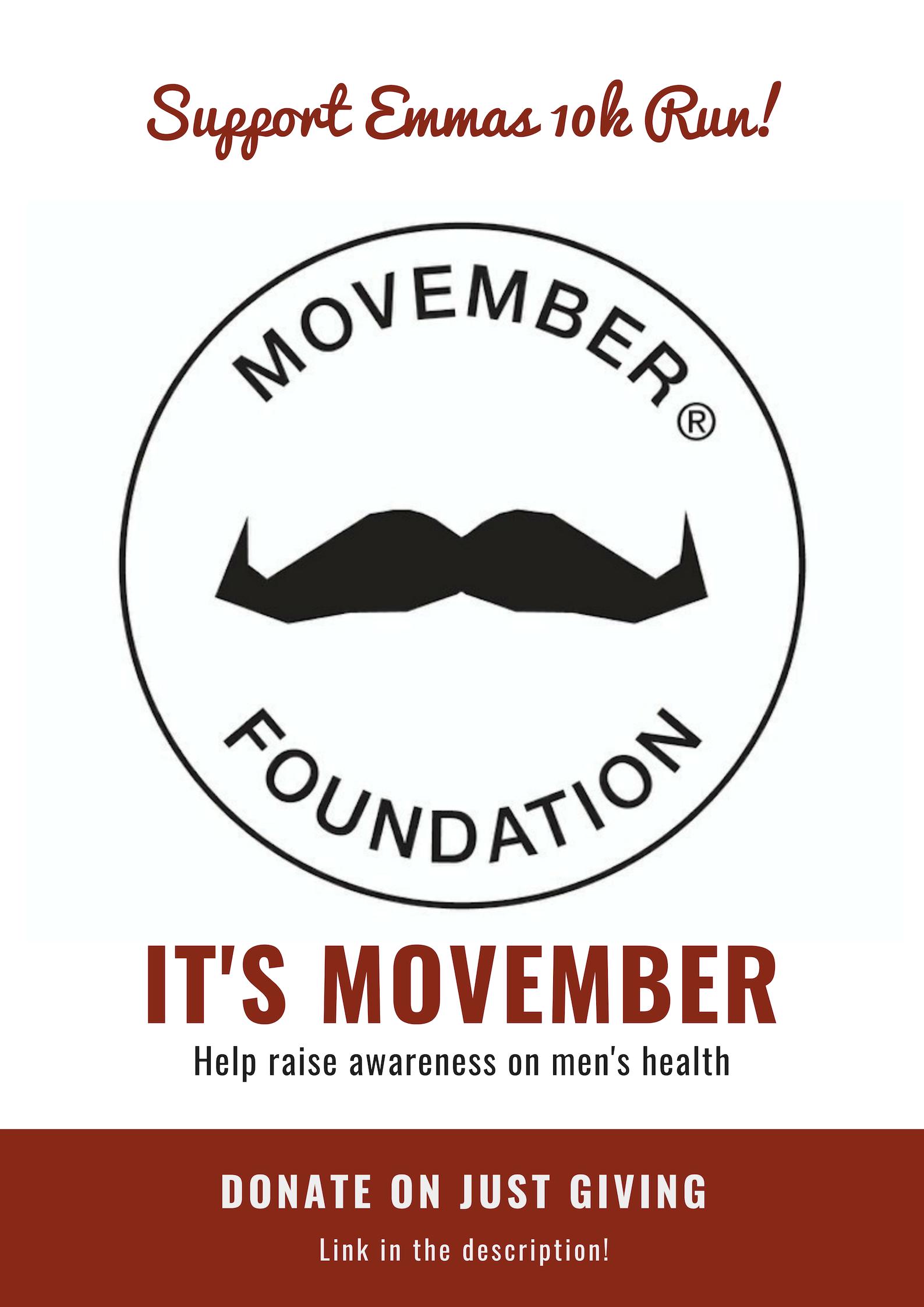 Emma Highton 10k Run for Movember
