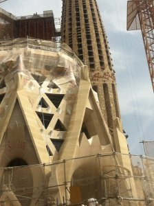 Armstrongs to the world: La Sagrada Familia
