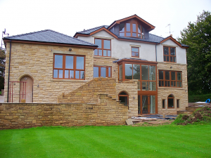 A beautiful home, made from stone produced from one of our Amrstrongs quarries. What is Quarrying?