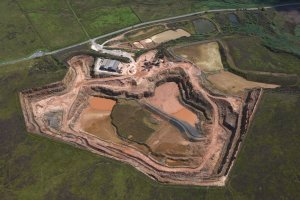 An Ariel view of Waddington Fell Quarry. What is quarrying?