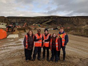 Bolton lads & girls club at montcliffe quarry
